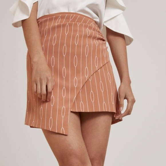 C/MEO Collective Dresses & Skirts - NWT C/MEO Collective biscuit chain print skirt S